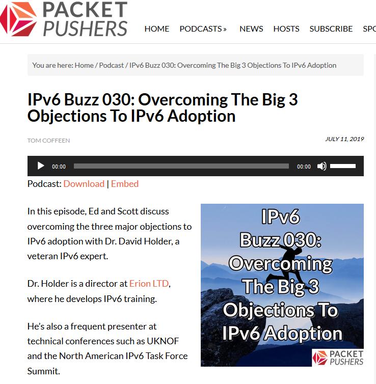 Overcoming the Big Three Objections to IPv6 Adoption